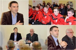 EVENIMENT DE EXCEPȚIE! Arbitrii Hațegan și Igna s-au întâlnit astăzi cu admiratorii! (FOTO)
