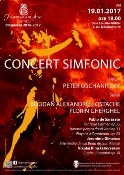 Concert fascinant la Filarmonica din Arad, sub bagheta maestrului Peter Oschanitzky - Ghidul Arădean