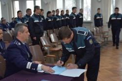Depunerea jurământului de credință al polițiștilor încadrați din sursă externă