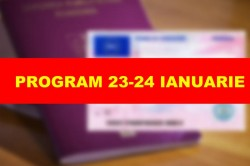 Programul Serviciilor Publice Comunitare în perioada 23-24 ianuarie 2017