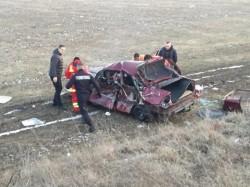 Accident GRAV pe DN 79 la intersecţia cu drumul spre Livada!