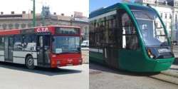 Compania de Transport Public Arad modifică  programul de circulație în perioada 23 - 24 ianuarie 2017