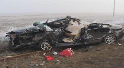 ACCIDENT GRAV ÎN ARAD! 2 autoturisme și un autotren au fost implicate! (FOTO-VIDEO)