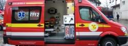 Accident în cartierul arădean Sânniculaul Mic. Echipaj SMURD la faţa locului