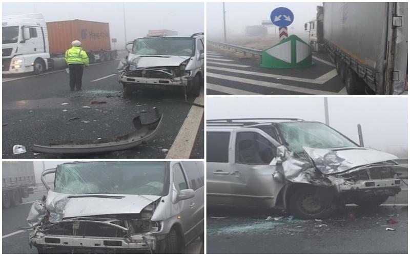 Accident pe autostrada Arad-Nădlac! (FOTO)