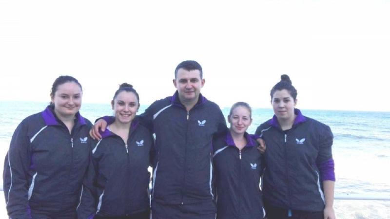 Echipa feminină a CSM Arad la tenis de masă şi-a asigurat prezenţa în semifinalele Superligii Naţionale