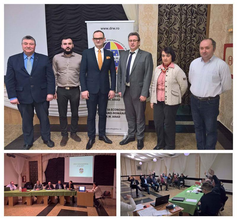 Conducere nouă la D.R.W. Arad (Asociația economică Germano-Română)