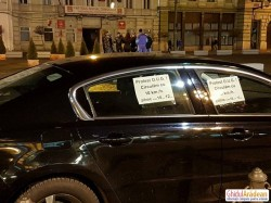 Protest inedit la Arad anunţat sâmbătă: #ProtestPeRoti