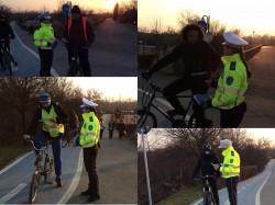 """Poliţia Locală:""""Biciclim în spiritul legii"""" , Campanie de informare"""