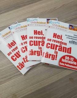 Revista GHIDUL ARĂDEAN a apărut din nou pe piață !