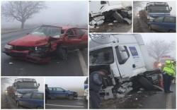 Două accidente pe drumul Arad – Nădlac aproape în acelaşi timp! (Galerie FOTO)