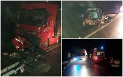Trei victime pe DN 7, la Bătuţa în noaptea de marţi spre miercuri