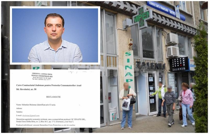 Bulumac: Am reclamat farmacia SINAPIS la Protecţia Consumatorilor