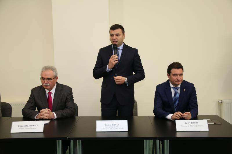 """Sergiu Bîlcea: """"Îmi doresc un parteneriat solid cu mediul de afaceri"""""""