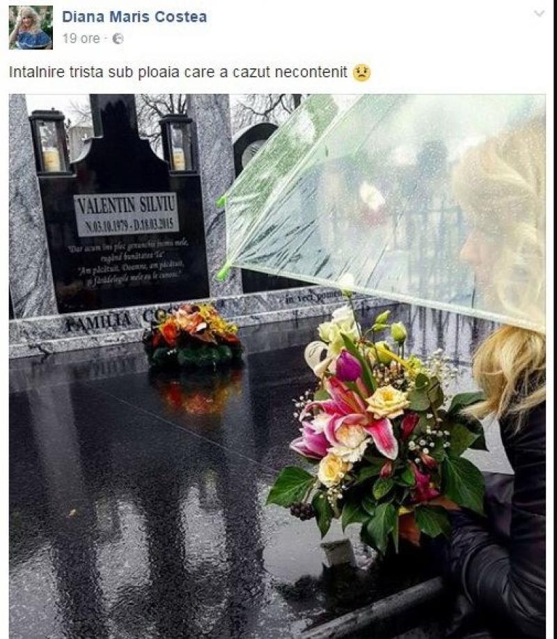 Mesajul emoţionant al Dianei Mariş la doi ani după moartea soţului ei Vale !