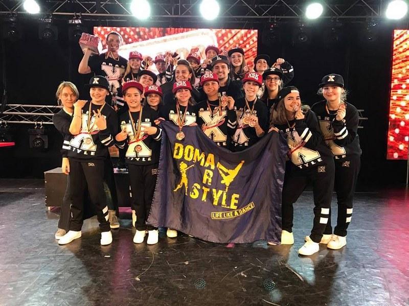Arădenii de la X-Style Kids şi-au păstrat titlul de campioni naţionali