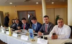 Iustin Cionca, la Adunarea Generală DKMT, în Ungaria