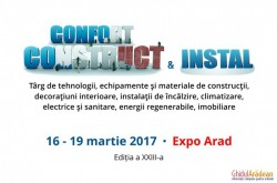 Confort Construct & Instal – Expo Arad, 16-19 martie 2017