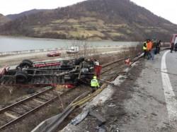 Soţul Alinei Gorghiu implicat într-un accident grav de circulaţie !