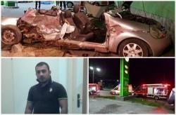 Unul din tinerii care se afla în Ford-ul Ka din accidentul de vineri seara de lângă Cimitirul Pomenirea a pierdut lupta pentru viaţă!