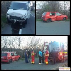Accident AUTO soldat cu victimă într-o intersecție din cartierul GAI! Vinovatul, amenințări la adresa FOTOREPORTERULUI!