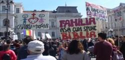 Marşul pentru Viaţă şi împotriva avorturilor la Arad