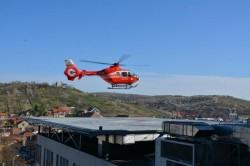 Primul heliport, deschis la Oradea pe acoperişul unui spital !