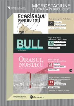 """Teatrul Clasic """"Ioan Slavici"""" din Arad  în luna aprilie la Bucureşti"""