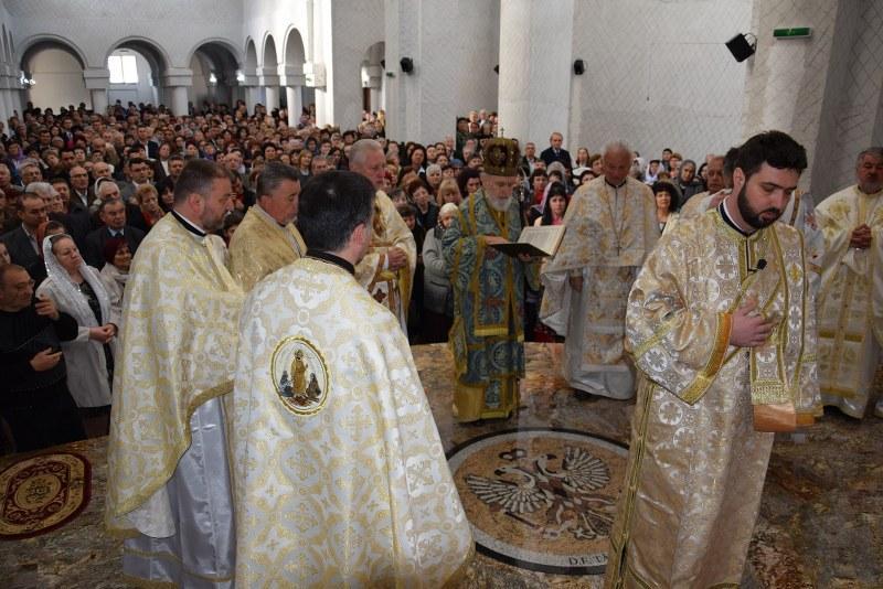 Sfințirea Bisericii Ortodoxe de la UTA închinată martirilor neamului