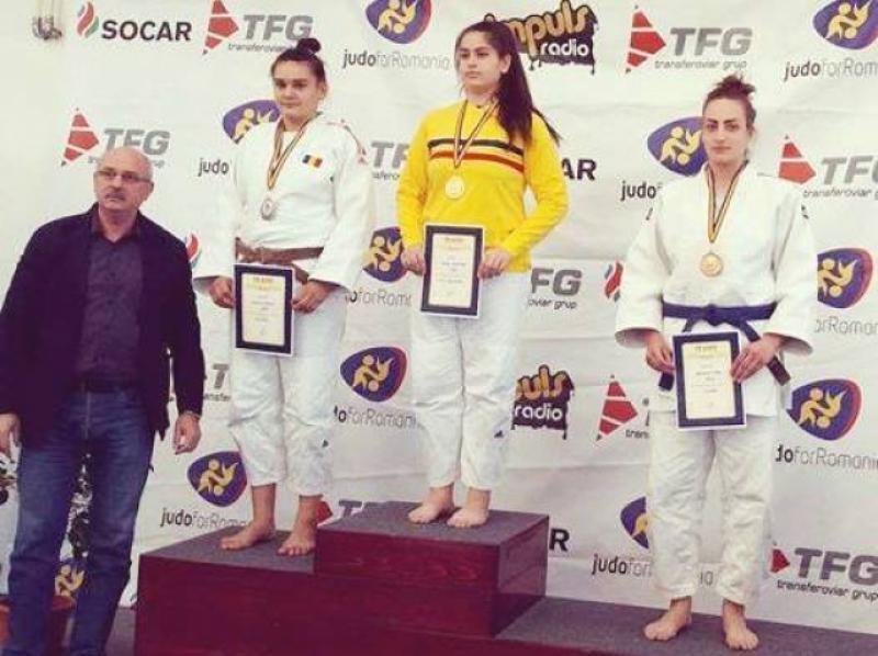 Kinga Bleicziffer, bronz naţional pe tatami. Viitorul judoului arădean este pe mâini bune
