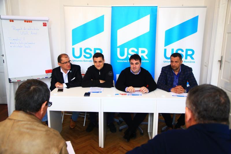 USR Arad și-a prezentat Raportul de activitate pe primul trimestru al anului 2017