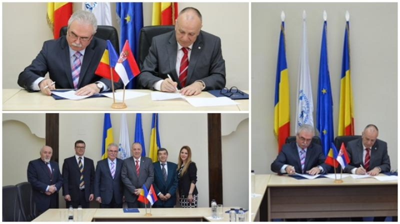 Delegaţie sârbă, în vizită la CCIA Arad