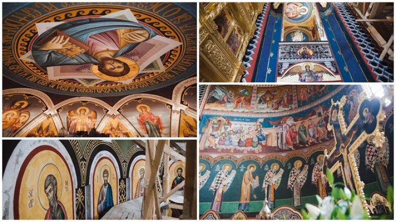 Care este stadiul lucrărilor în interiorul Catedralei Ortodoxe din Arad  (Galerie FOTO)
