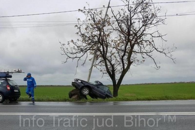 Accident rutier, rupt parcă din filme !