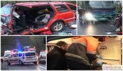UPDATE Accident pe DN7, Valea Mureşului din nou scena unui accident grav cu victime! (Galerie FOTO şi declaraţii)