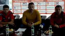 Conferinţa de presă UTA Arad, înainte de meciul decisiv cu C.S. Afumaţi