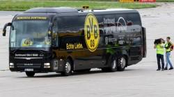 Explozie în autocarul Borussiei Dortmund, cu 45 minute înaintea meciului cu Monaco!