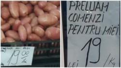 La Arad kilogramul de cartofi costă cât kilogramul de carne de miel...sau invers ! Superofertă de Paşte!