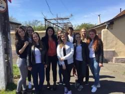 Acţiune umanitară a studenţilor  UAV  în Săptămâna Mare