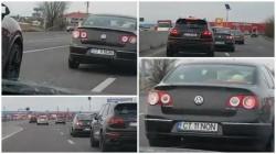 VIDEO- Pericol public pe Autostrada Soarelui ! Şoferii aflați în trafic, la un pas de tragedie !