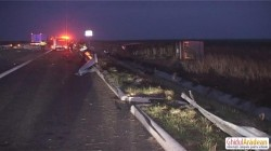 Lovit în plin pe Autostrada A1 ! Şoferul a murit la spital !