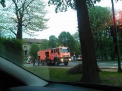 Au dat foc la gunoaie, în centrul Aradului !