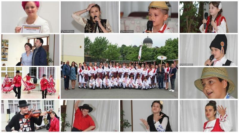 """""""Cânt și voie bună"""" a Liceul Național de Informatică din Arad, Concurs regional de tradiție și umor (Galerie FOTO)"""