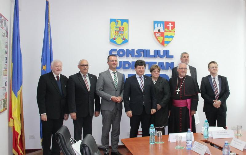 Delegaţie din Germania, în vizită oficială la Consiliul Judeţean Arad