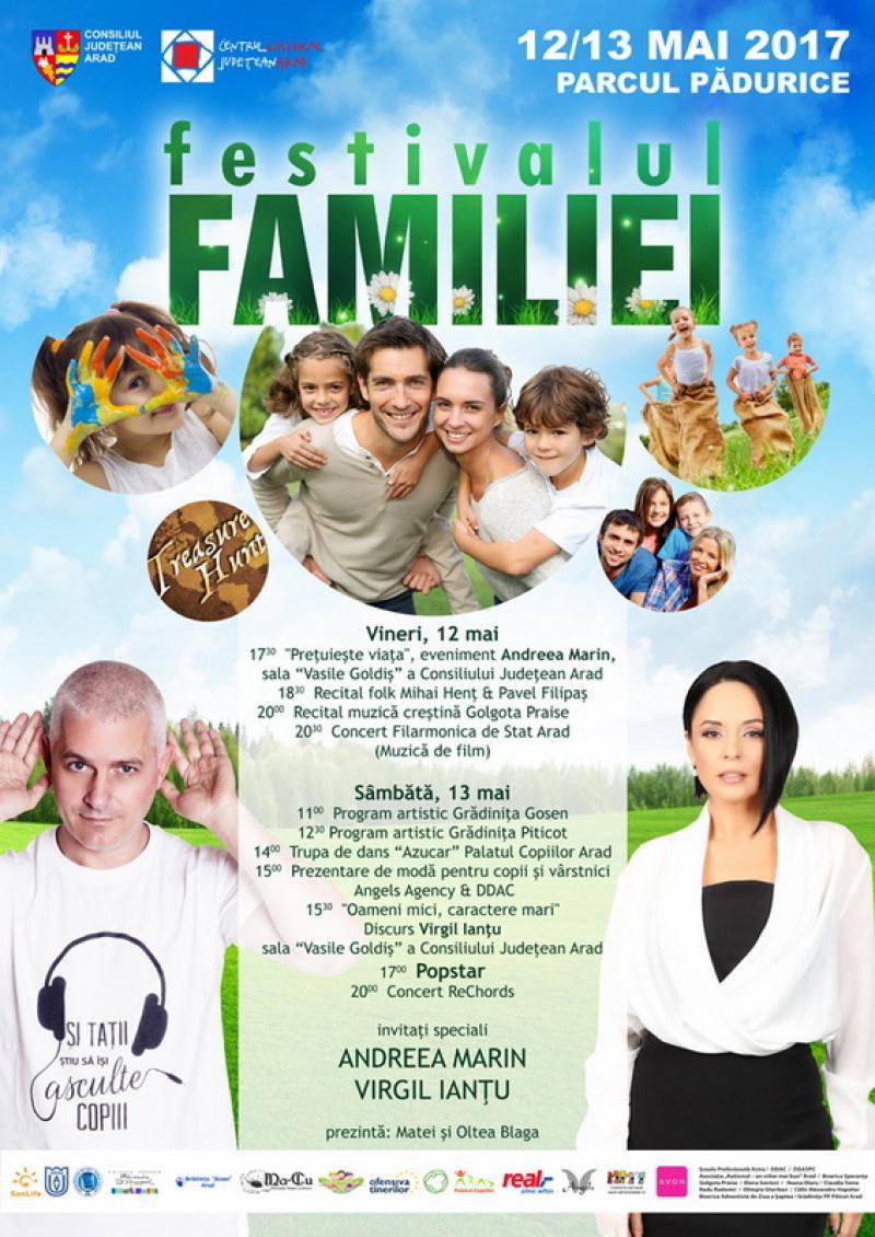 Începe Festivalul Familiei la Arad
