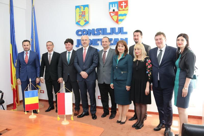 Ambasadorul Republicii Polone, în vizită oficială la Arad