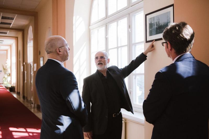 Ambasadorul Republicii Polone în vizită la Primăria Arad