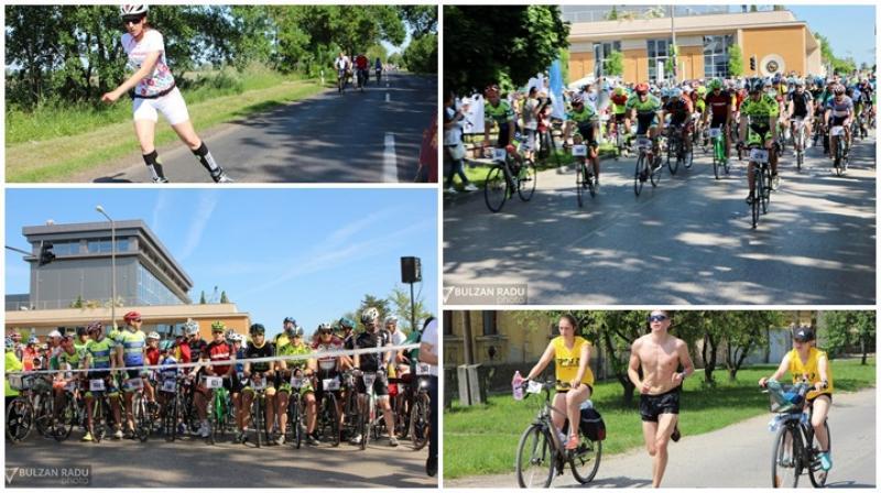 Supermaratonul Békéscsaba – Arad – Békéscsaba, ediția a XX-a. Prima zi ilustrată într-o galerie de 200 de poze