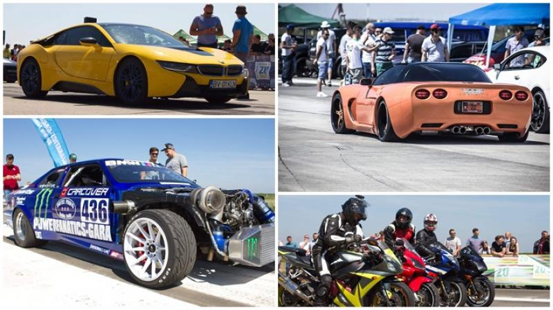 Drag Racing Events 2017 pe Aeroportul Arad (Galerie FOTO)