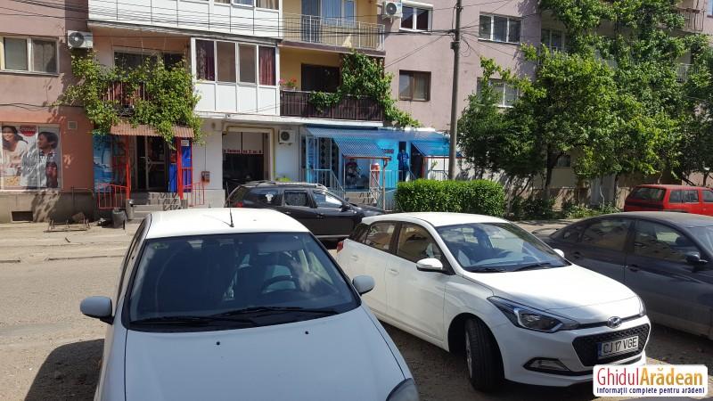 Cartierul Confecții din Arad a fost ținta hoților, în noaptea de duminică spre luni ! Există deja un suspect